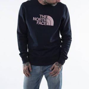 סווטשירט דה נורת פיס לגברים The North Face Drew Peak Crew - כחול כהה