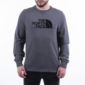 סווטשירט דה נורת פיס לגברים The North Face Light Drew Peak Pullover - אפור כהה