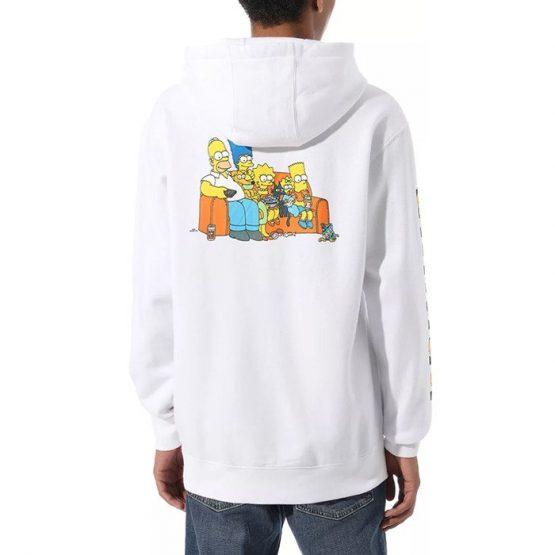ביגוד ואנס לגברים Vans x The Simpsons Family Po - לבן