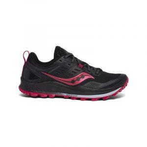 נעלי ריצת שטח סאקוני לנשים Saucony PEREGRINE 10 - שחור