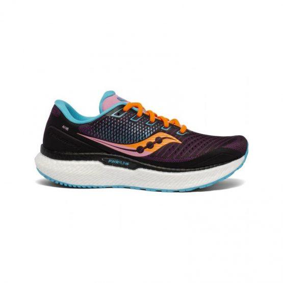 נעלי ריצה סאקוני לנשים Saucony TRIUMPH 18 - צבעוני כהה