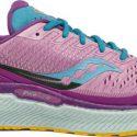 נעלי ריצה סאקוני לנשים Saucony TRIUMPH 18 - סגול/ורוד