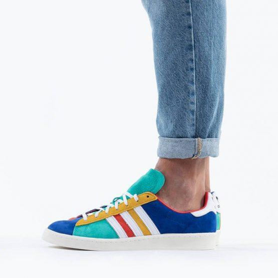 נעליים אדידס לגברים Adidas Originals Campus 80s - צבעוני