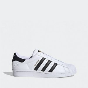 נעלי סניקרס אדידס לגברים Adidas Originals Superstar Vegan - לבן