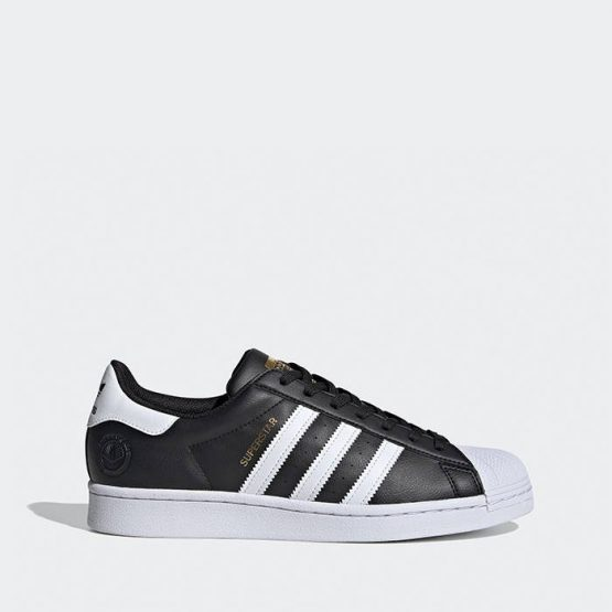 נעלי סניקרס אדידס לגברים Adidas Originals Superstar Vegan - שחור