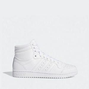 נעלי סניקרס אדידס לגברים Adidas Originals Top Ten - לבן