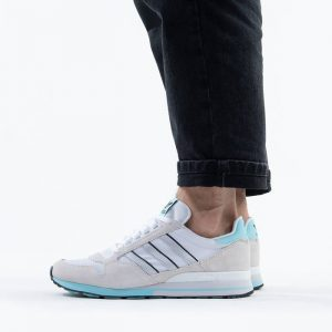 נעלי סניקרס אדידס לגברים Adidas Originals Zx 500 - לבן