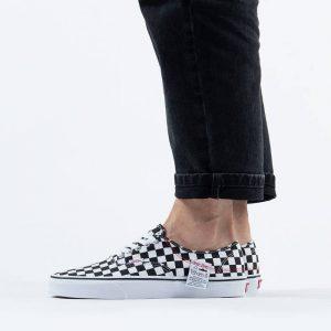 נעליים ואנס לגברים Vans Authentic Hc DIY - שחור/לבן