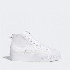 נעליים אדידס לנשים Adidas Originals Nizza - לבן