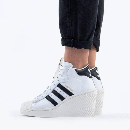 נעליים אדידס לנשים Adidas Originals Superstar Ellure - לבן