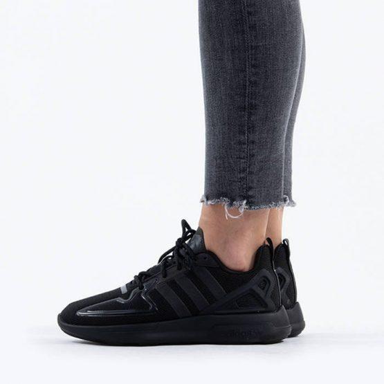 נעלי סניקרס אדידס לנשים Adidas Originals Zx 2K Flux - שחור