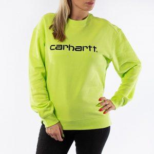 ביגוד קארהארט לנשים Carhartt WIP Sweatshirt - ירוק
