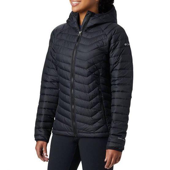 ג'קט ומעיל קולומביה לנשים Columbia Powder Lite - שחור