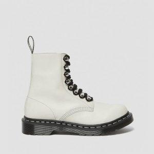 נעליים דר מרטינס  לנשים DR Martens 1460 Pascal - לבן