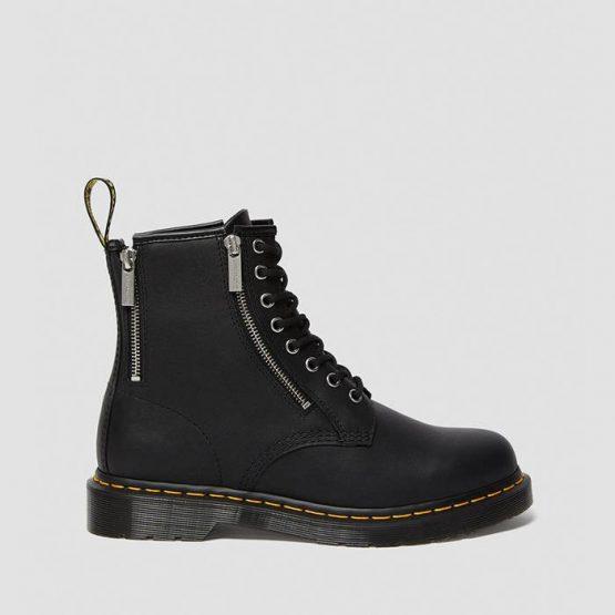 נעליים דר מרטינס  לנשים DR Martens 1460 Zip - שחור