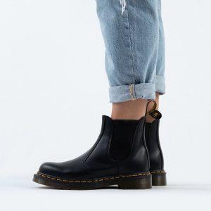 נעליים דר מרטינס  לנשים DR Martens Black Smooth - שחור
