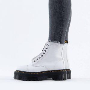 נעליים דר מרטינס  לנשים DR Martens Sinclar Leather Platform - לבן