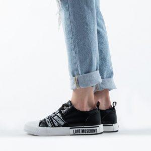 נעלי סניקרס מוסקינו לנשים MOSCHINO Nuovovul25 - שחור