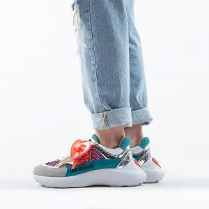 נעלי סניקרס מוסקינו לנשים MOSCHINO Running60 - צבעוני