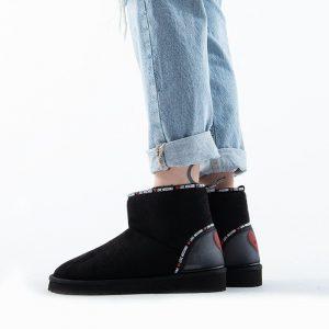 נעליים מוסקינו לנשים MOSCHINO Sca Nod Ugo30 - שחור
