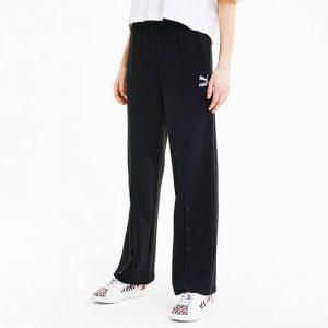 ביגוד פומה לנשים PUMA Straight Leg Pant - שחור