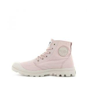 נעליים פלדיום לנשים Palladium Pampa Hi Organic Earth Collection - ורוד