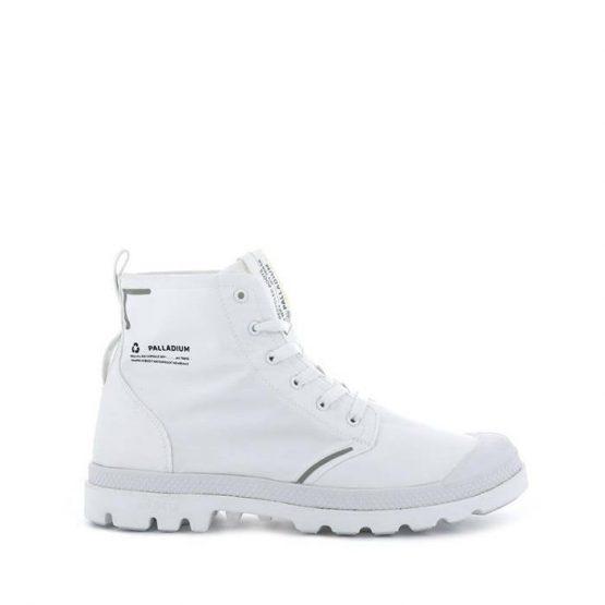 נעליים פלדיום לנשים Palladium Pampa Lite+ Recycle Wp+  Earth Collection - לבן
