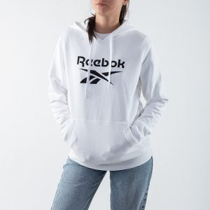 ביגוד ריבוק לנשים Reebok Classic Big Logo - לבן