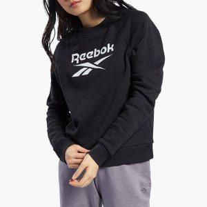 ביגוד ריבוק לנשים Reebok Classic Big Vector Crew - שחור