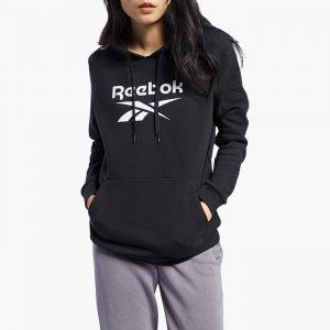 ביגוד ריבוק לנשים Reebok Classic F Logo - שחור