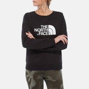 ביגוד דה נורת פיס לנשים The North Face Drew Peak Crew - שחור