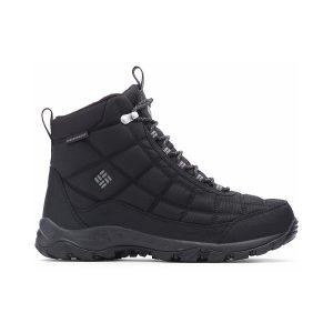 נעלי טיולים קולומביה לגברים Columbia FIRECAMP BOOT - שחור