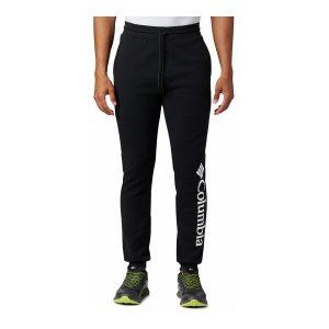 מכנסיים ארוכים קולומביה לגברים Columbia LODGE DBL KNIT JOGGER - שחור