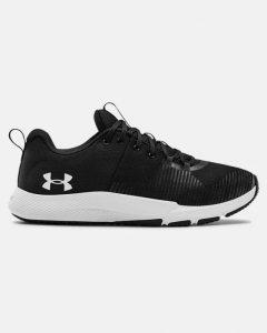 נעלי אימון אנדר ארמור לגברים Under Armour CHARGED ENGAGE - שחור/לבן