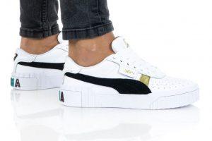 נעלי סניקרס פומה לנשים PUMA CALI VARSITY - לבן