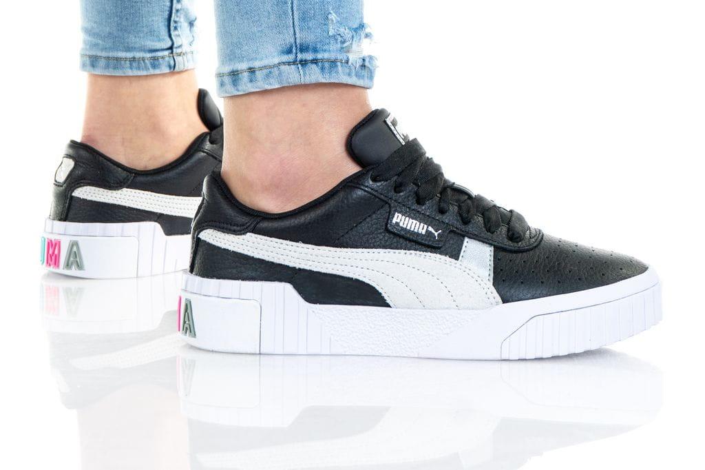 נעליים פומה לנשים PUMA CALI VARSITY - שחור