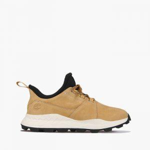 נעלי טיולים טימברלנד לגברים Timberland Brooklyn - לבןחום