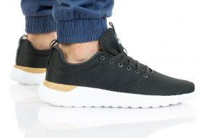 נעלי ריצה אדידס לגברים Adidas LITE RACER CLN - לבן/שחור