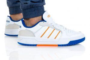 נעלי סניקרס אדידס לגברים Adidas ENTRAP - לבן/צהוב