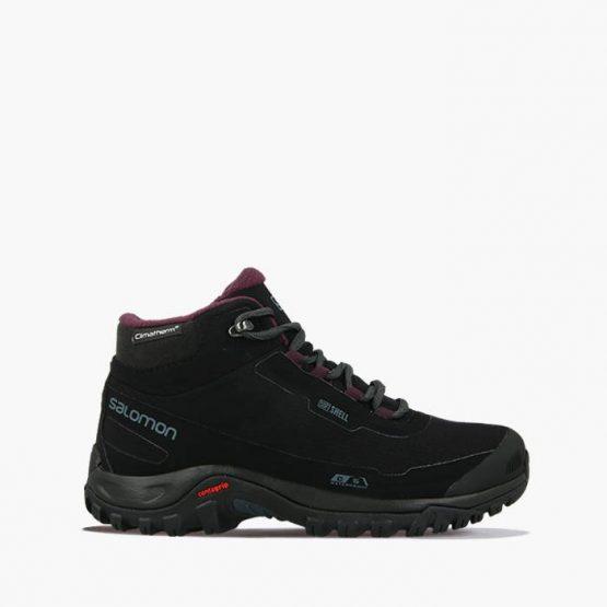 נעלי טיולים סלומון לנשים Salomon Shelter CS WP W - שחור מלא