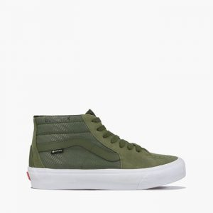 נעלי סניקרס ואנס לגברים Vans Sk8-Mid Gore-Tex GTX - ירוק