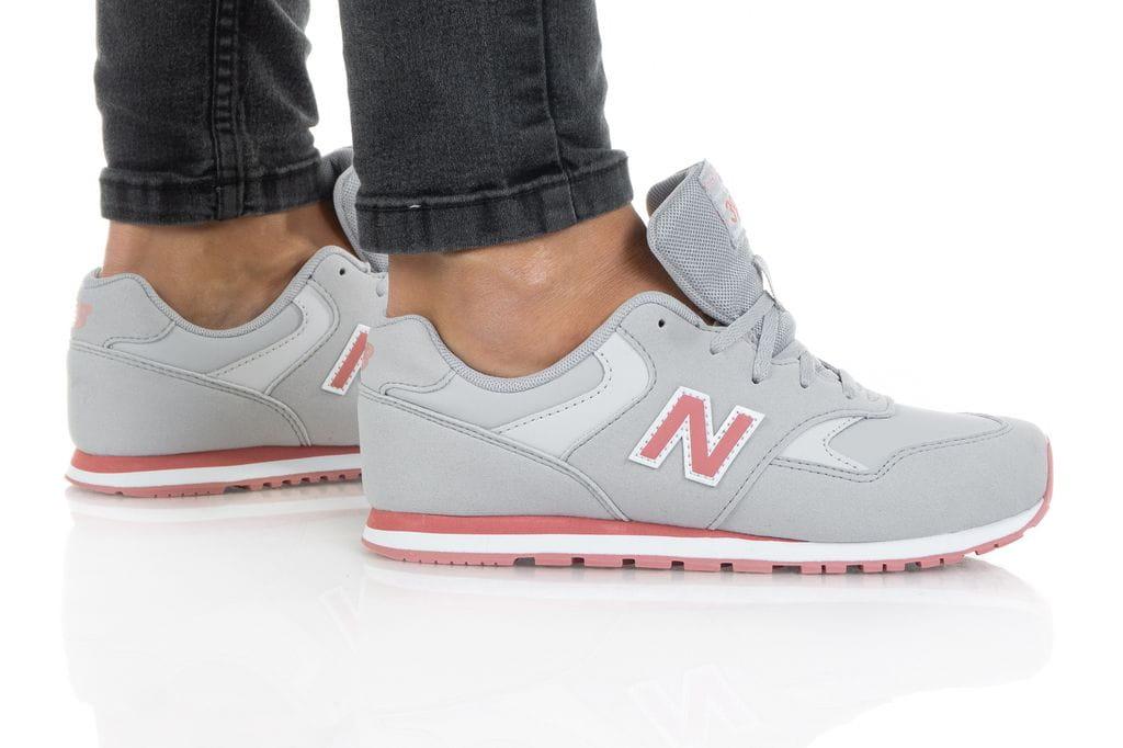 נעליים ניו באלאנס לנשים New Balance YC393 - אפור בהיר