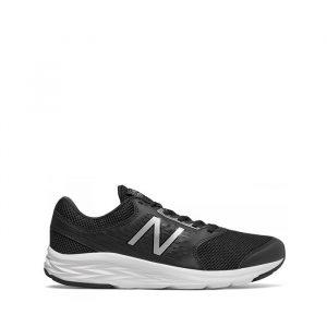 נעלי ריצה ניו באלאנס לגברים New Balance M411 - שחור/לבן