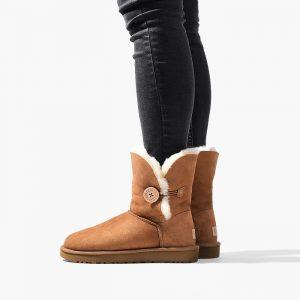 נעליים האג לנשים UGG Bailey Button II - חום
