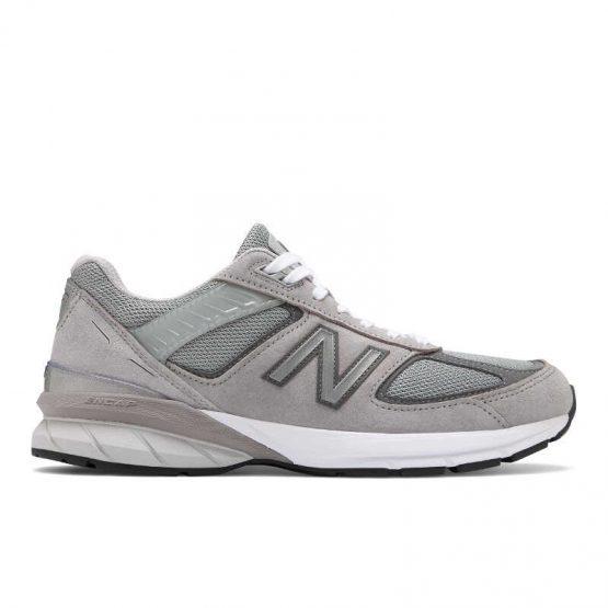 נעלי סניקרס ניו באלאנס לגברים New Balance M990 V5 - אפור