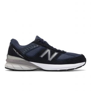 נעלי סניקרס ניו באלאנס לגברים New Balance M990 V5 - כחול כהה