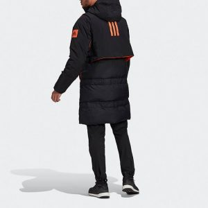 ג'קט ומעיל אדידס לגברים Adidas Myshelter Cold RDY Parka - שחור