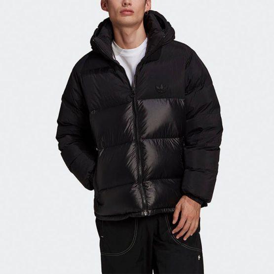 ביגוד אדידס לגברים Adidas Originals Down Regen Puff - שחור