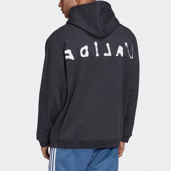 ביגוד אדידס לגברים Adidas Originals Fashion Hoody - אפור כהה