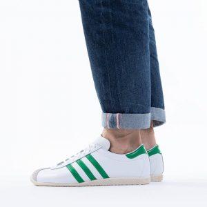 נעלי סניקרס אדידס לגברים Adidas Originals Overdub - לבן/ירוק